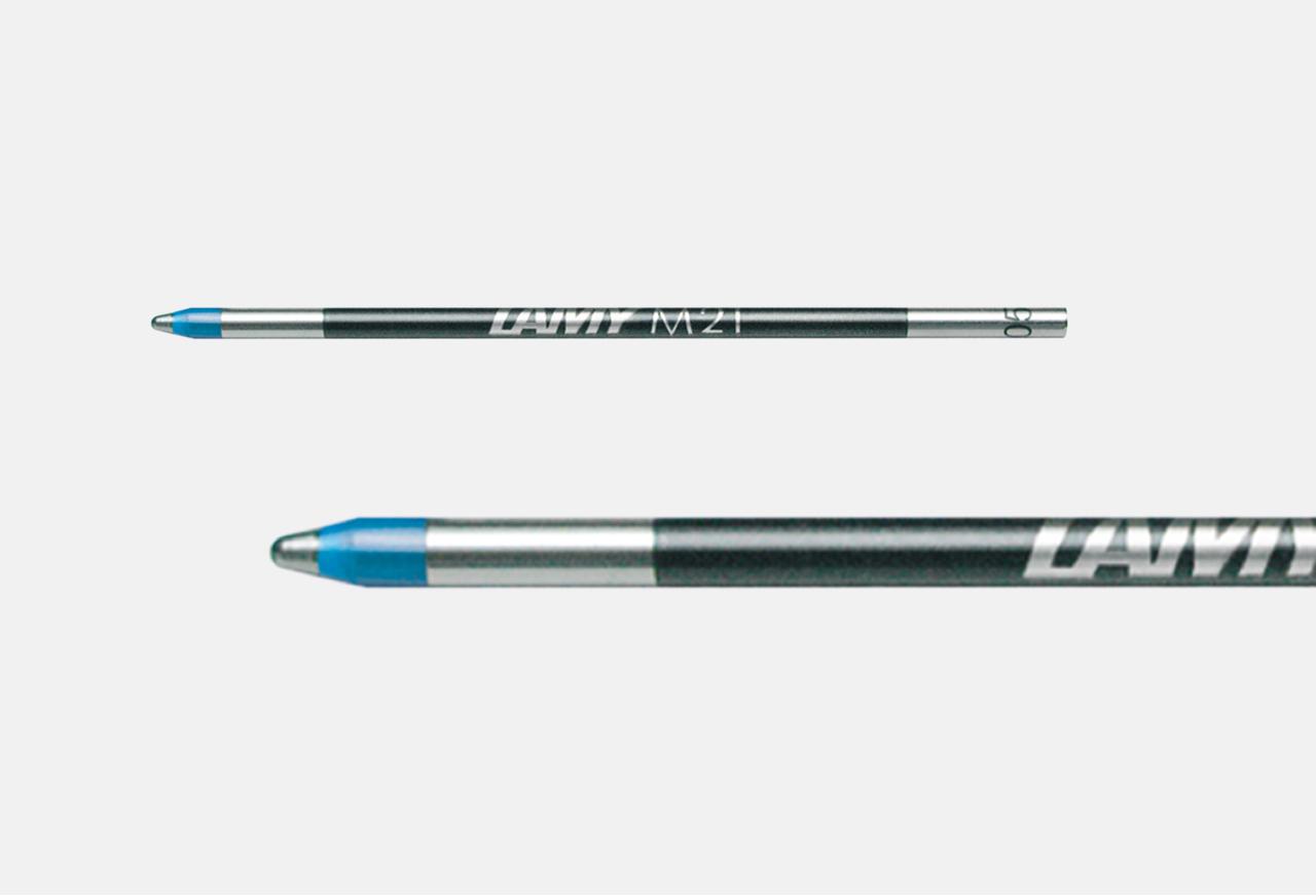 Lamy* 5 Stück Tintenpatronen-Großraum TYP T10 blau  Löschbar